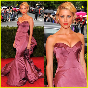 Amber Heard - Met Ball 2012
