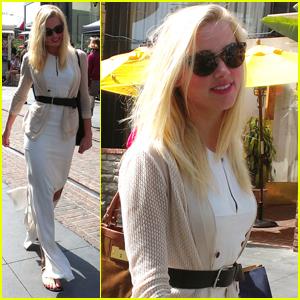 Amber Heard: Zara Shopper