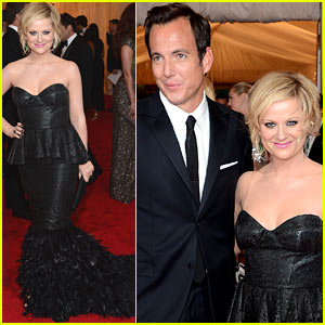 Amy Poehler & Will Arnett - Met Ball 2012