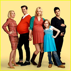 Andrew Rannells & Justin Bartha: Baby Bumps for 'New Normal'