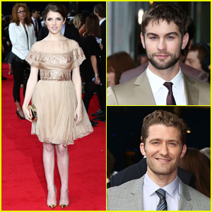Anna Kendrick & Chace Crawford: 'What to Expect' in UK!