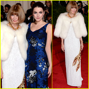 Anna Wintour: Met Ball 2012 with Bee Shaffer