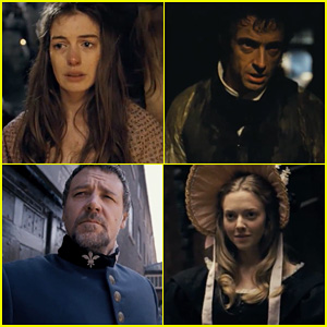 Anne Hathaway & Hugh Jackman: 'Les Miserables' Teaser Trailer!