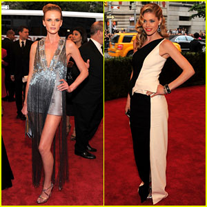 Anne V & Doutzen Kroes - Met Ball 2012