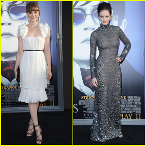 Bella Heathcote & Eva Green: 'Dark Shadows' Premiere!