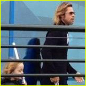 Brad Pitt: Legoland with Knox
