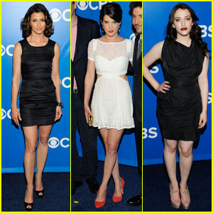 Bridget Moynahan & Cobie Smulders: CBS Upfront!