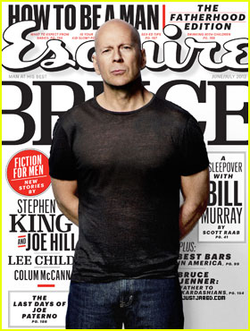 Bruce Willis Covers 'Esquire' June/July 2012