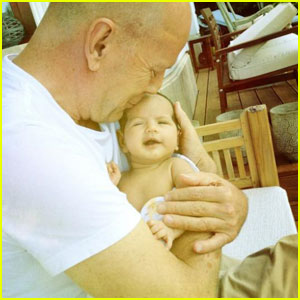 Bruce Willis: Baby Mabel's First Photo!