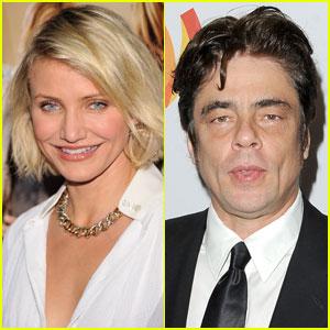 Cameron Diaz: 'Agent: Century 21' Star with Benicio Del Toro!