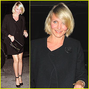 Cameron Diaz: Drew Barrymore's Engagement Party!