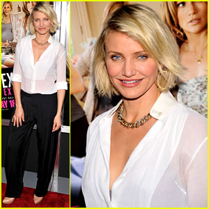 Cameron Diaz: 'What to Expect' NYC Screening!