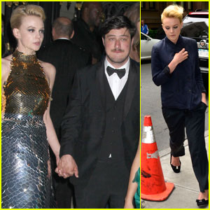 Carey Mulligan & Marcus Mumford: Newlyweds at Met Ball!