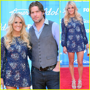 Carrie Underwood American Idol Finale With Mike Fisher