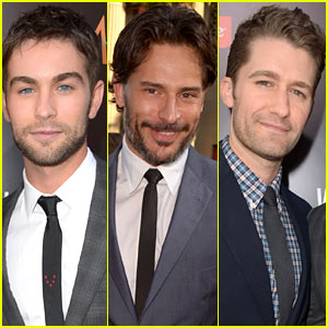 Chace Crawford & Joe Manganiello Premiere 'What to Expect'!