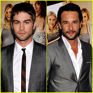 Chace Crawford & Rodrigo Santoro: 'What to Expect' Screening!