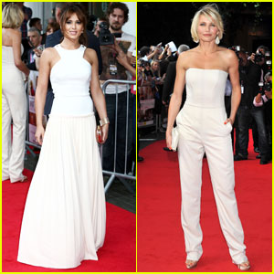 Cheryl Cole & Cameron Diaz: 'What to Expect' UK Premiere!
