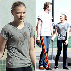 Chloe Moretz: Downtown Los Angeles with Brother Trevor!