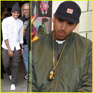 Chris Brown: 'Dum English' Toy Launch!