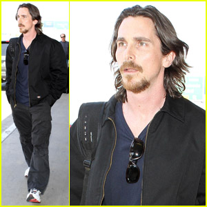 Christian Bale's Low-Key Landing