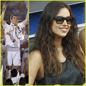 Irina Shayk & Cristiano Ronaldo: Sports in Spain!