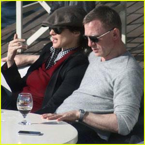 Daniel Craig Rachel Weisz Yacht Ride in Turkey Daniel Craig