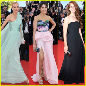Freida Pinto & Diane Kruger: Cannes Opening Ceremony!