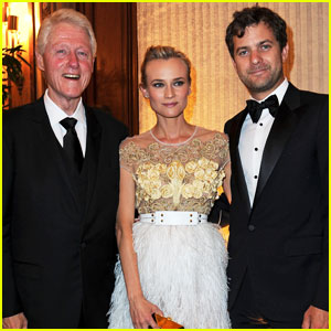 Diane Kruger: Nights in Monaco Gala with Bill Clinton!