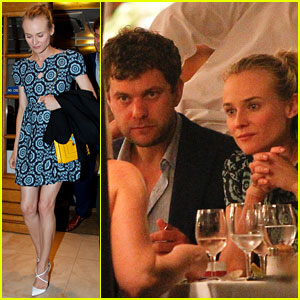 Diane Kruger & Joshua Jackson: Seafood Supper in Cannes!