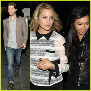 Dianna Agron: 'Glee'ful Night Out in London!