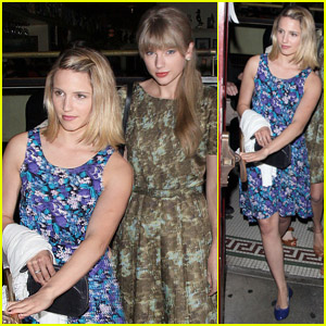 Dianna Agron & Taylor Swift: Dominick's Dinner!