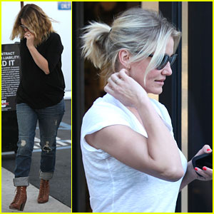 Drew Barrymore: Wedding Dress Fitting with Cameron Diaz?