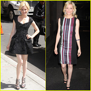 Elizabeth Banks: 'Late Show' Appearance!