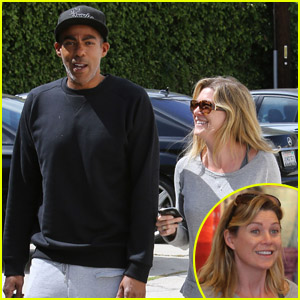 Ellen Pompeo & Chris Ivery: Rug Shopping