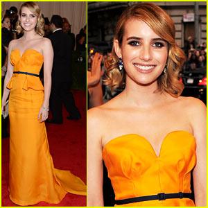 Emma Roberts - Met Ball 2012