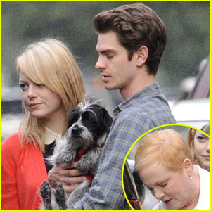 Andrew Garfield: Mother's Day with Emma Stone's Mom!