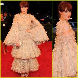 Florence Welch - Met Ball 2012