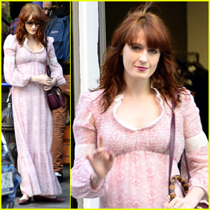Florence Welch: 'Late Show' Appearance!
