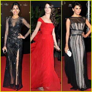 Freida Pinto &#038; Berenice Bejo: Cannes Opening Night Dinner!