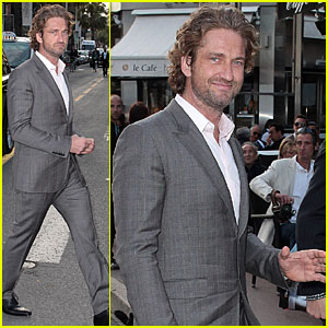 Gerard Butler: 'White House Taken' Party at Cannes!