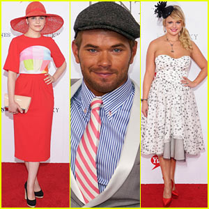 Ginnifer Goodwin & Kellan Lutz: Kentucky Derby Duo!