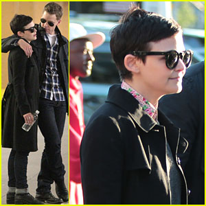Ginnifer Goodwin & Josh Dallas: Yankee Stadium Sweethearts