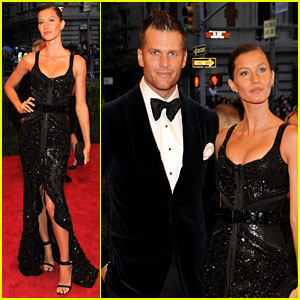 Gisele Bundchen: Met Ball 2012 with Tom Brady!