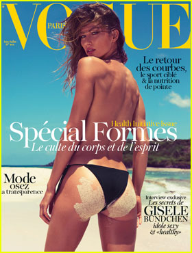 Gisele Bundchen: Topless for French 'Vogue'!