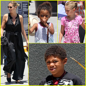 Heidi Klum: Movie Matinee with the Family