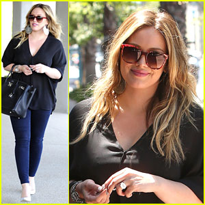 Hilary Duff: 'Luca Is Getting So Big'