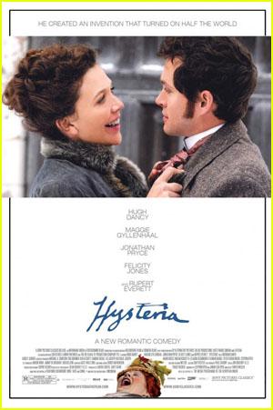 Maggie Gyllenhaal & Hugh Dancy: 'Hysteria' Poster!