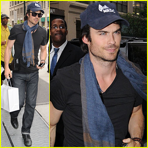 Ian Somerhalder: 'Very Cool Party' with Mick Jagger!
