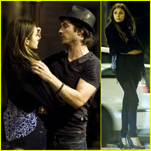 Ian Somerhalder & Nina Dobrev: Paris Lovers