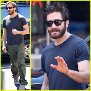 jake gyllenhaal cab Jake Gyllenhaal: Cab Ride in NYC!